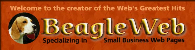BeagleWeb Page Creations